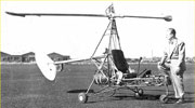 E.M.Gluhareff & Flying Experiment Test Stand, c. 1950